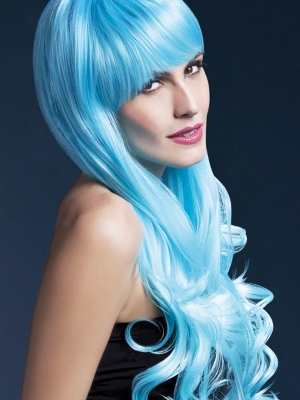 Emily Wig,  Two Tone Blue