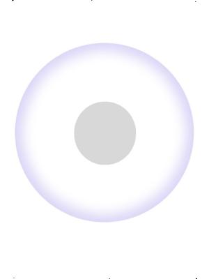 UV lēcas, baltas
