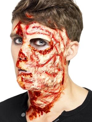 Искусственная рана обгоревшего лица