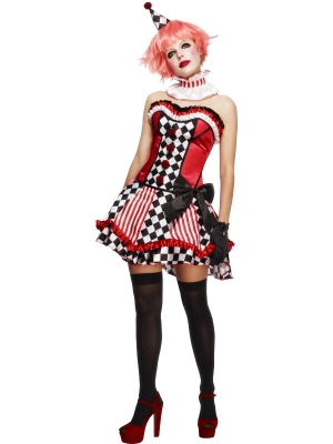 Fever Boutique Clown Cutie Costume
