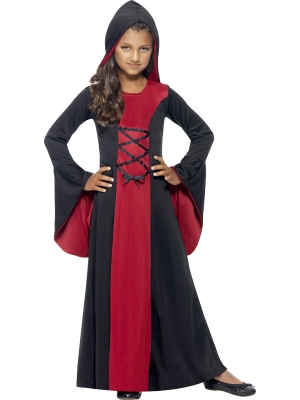Hooded Vamp Robe Costume