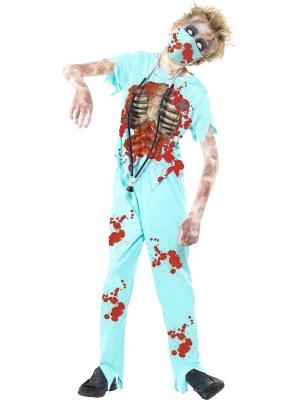 Zombija  ķirurga kostīms