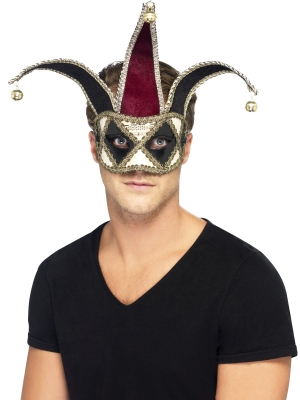 Gotiska Arlekīna acu maska