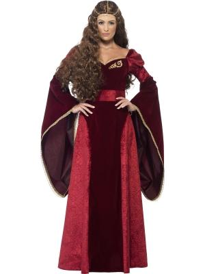 Medieval Queen Deluxe Costume