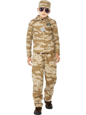 Desert Army Costume