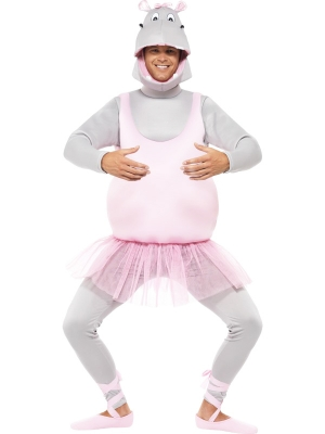 Ballerina Hippo Costume (men / women)