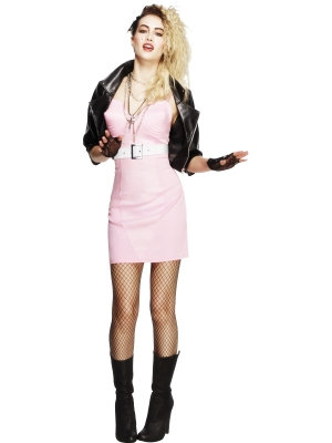Fever 80`s Rocker Diva Costume