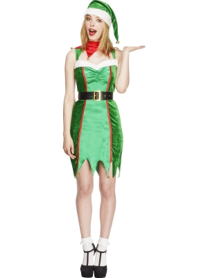 Fever Naughty Elf Costume