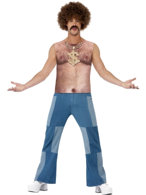 Realistic 70`s Hairy Chest