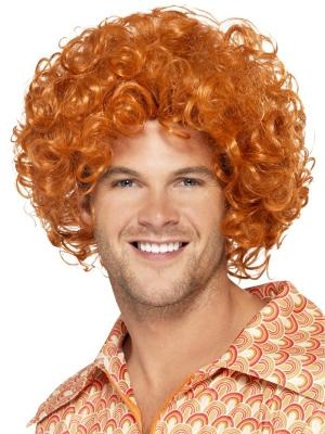 Афро парик рыжий