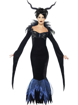 Lady Raven Costume (Maleficent), Deluxe