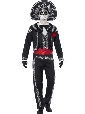Day of the Dead Se±or Bones Costume