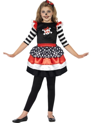 Skully Girl Costume