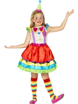 Deluxe Clown Girl Costume