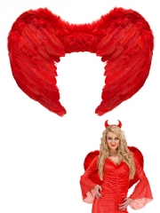 Spārni, sarkani, 37cm x 50cm