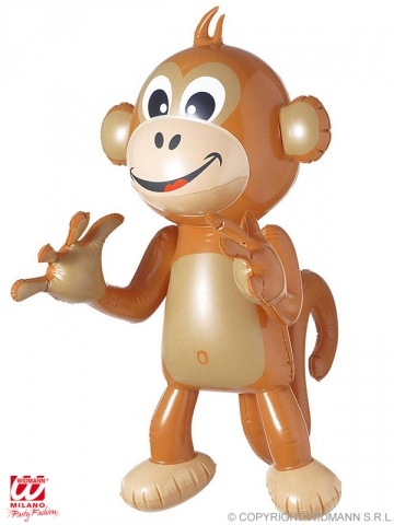 INFLATABLE MONKEY, 50 cm