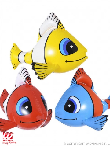 INFLATABLE TROPICAL FISH, 60 cm
