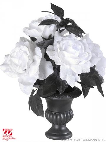 Mirgojoša vāze ar rozēm, 35 cm