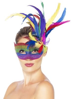 Karnevāla acu maska