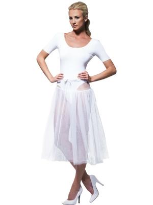 1950s Petticoat, White