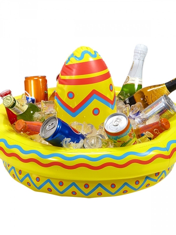 INFLATABLE SOMBRERO COOLER 50 cm
