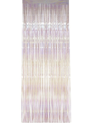 Shimmer Curtain, Iridescent, 91 x 244 cm