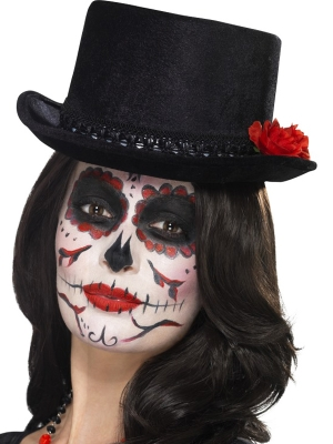 Day of the Dead Top Hat