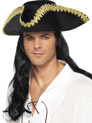 Pirate Hat, Black