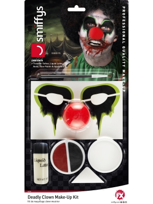 Deadly Clown Make-Up Kit