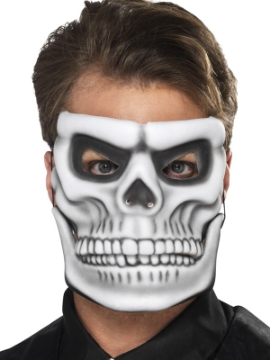 Mirušo dienas skeleta maska