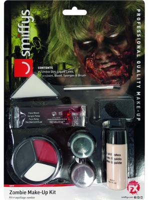 Zombija make up komplekts