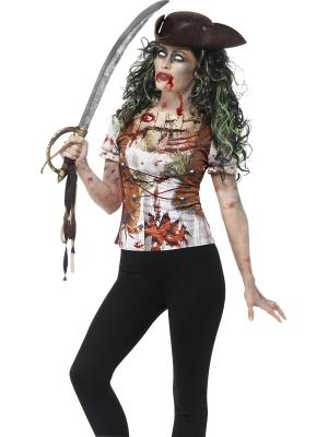 Zombiju pirātes krekls