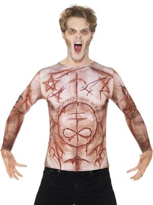 Sagraizīta ķermeņa krekls