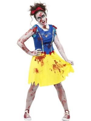 Zombie Miss Snow Costume