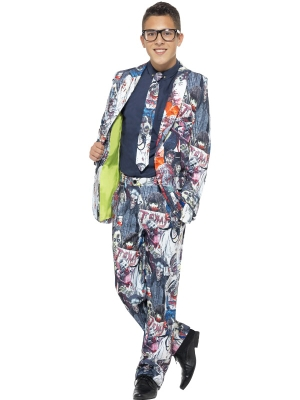 Zombie Suit, with Jacket, Trousers & Tie