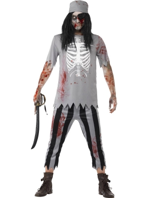 Zombie Pirate Costume