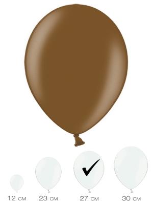 10 gab, Šokolādes brūns, metālisks spīdums, 27 cm