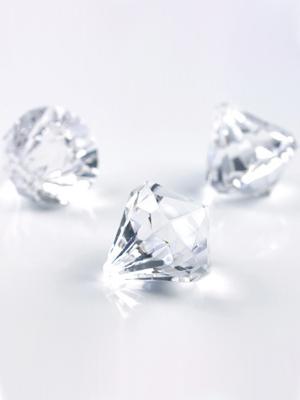 5 gab, Dimantu dekorācijas, 39 x 42 mm