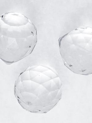 5 gab,Bezkrāsainas bumbiņu dekorācijas, 35 x 41 mm