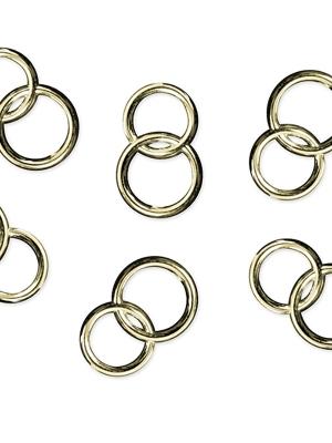 25 gab, Rotājumi laulību gredzeni, zelta, 15 mm
