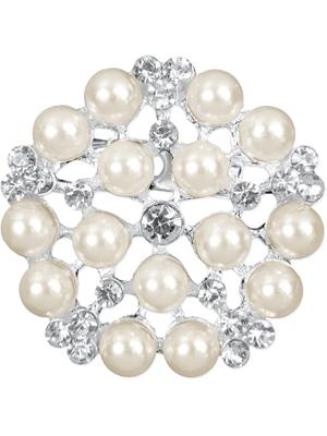2 gab, Piespraudes ar pērlēm, 25 mm