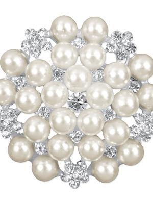 2 gab, Piespraudes ar pērlēm, 45 mm