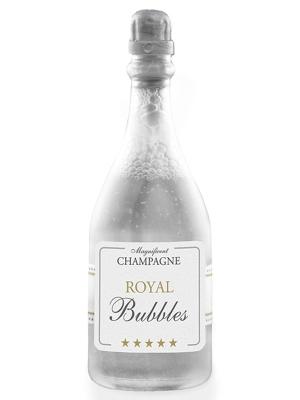 24 gab, Ziepju burbuļi, šampanietis