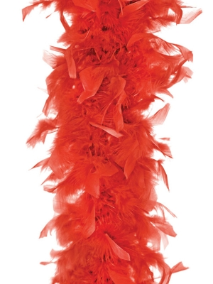 Boa, sarkans, 45 g, 180 cm
