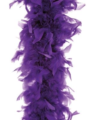 Boa, violets, 45 g, 180 cm