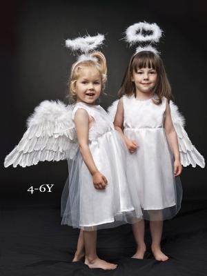 Eņģeļa kostīms, 4-6 gadi