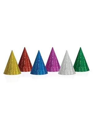 20 gab, Papīra cepures, hologrāfiskās, 17 cm