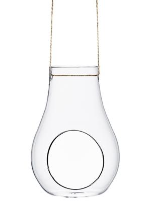 Stikla rotājums, 10.5 x 9.5 x 15 cm