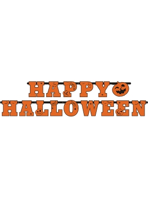 Baneris, Happy Halloween, 13 x 210 cm