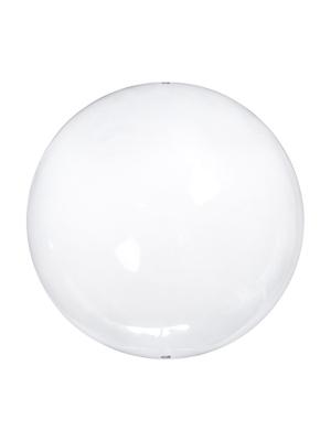 4 шт, Стеклянные шарики, безцветные, 8 см